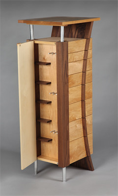 jewelry armoire unfinished furniture jewelry armoire