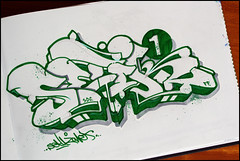 Setik01 (Setik01) Tags: urban streetart art graffiti design sketch paint tag hiphop piece blackbook setik