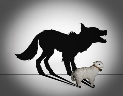 Wolf in sheep clothing by ajq82.