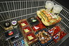 Tell me what you eat, and I will tell you... (Petra Cross) Tags: fruit colorful berries shoppingcart costco bubli zaskodnik