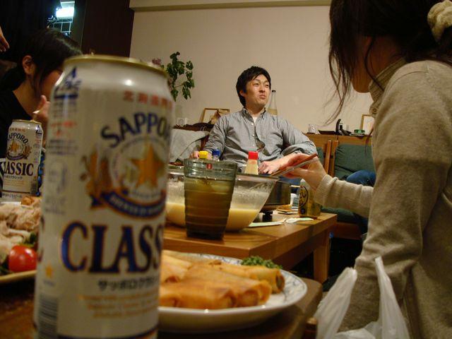 ビール越しの主役