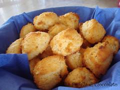 Biscotti al cocco pronti