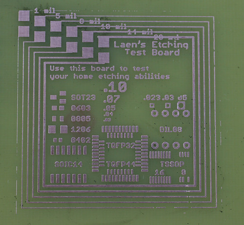 etching pcb test patterns to assess etch quality. Black Bedroom Furniture Sets. Home Design Ideas