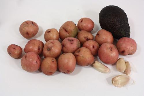 avocados potatoes garlic