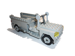 ACMAT Truck V-2 (P E U F) Tags: france truck army war lego camion soldiers brickarms acmat