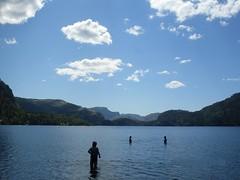 Mountain lake (Daniil Stakhno) Tags: lake norway preikestolen