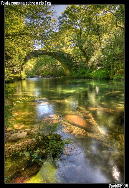 Ponte Romana sobre o rio Tea