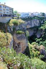 Ronda Outskirts (cwgoodroe) Tags: summer costa white hot sol beach del bells spain ancient europe churches sunny bull bullfighter adobe ronda moors walls washed clothesline protective newbridge roda bullring stonebridge oldbridge spainish whitehilltown rondah spanishdoors