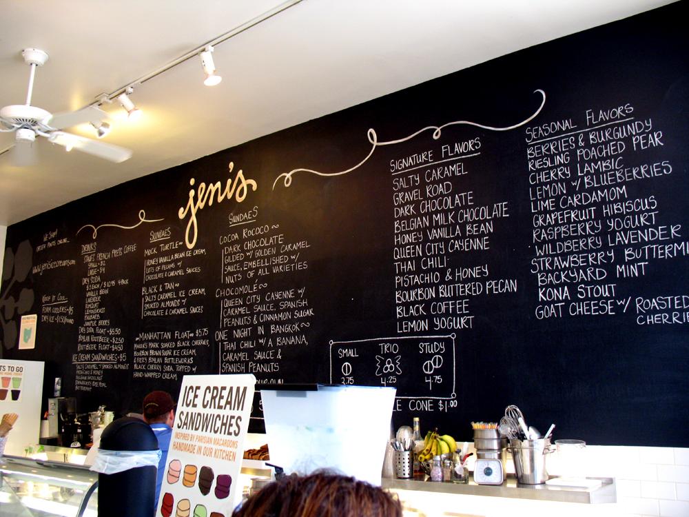 Jeni's ice cream Columbus