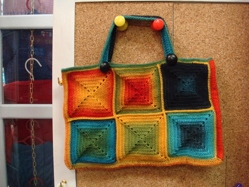 An amazing, soon to be published crochet tote