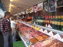 Újpesti Piac - Meat Stand
