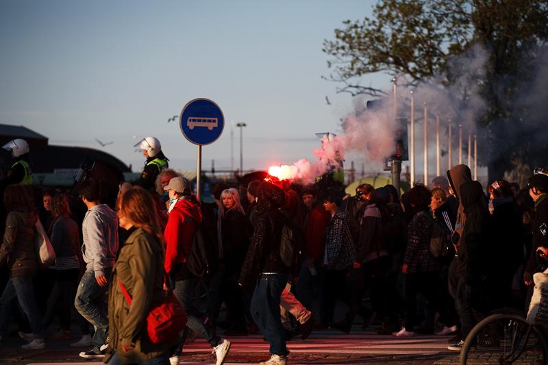 Reclaim The Streets, Västra Hamnen