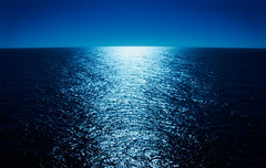 "Moonlight Reflecting Across the Ocean (IronRodArt - Royce Bair (""Star Shooter"")) Tags: ocean travel cruise light sea vacation panorama moon seascape reflection nature water glitter night reflections lite reflecting evening high sailing glow glare open view scope background horizon cruising panoramic lookout sparkle reflect future sail vista romantic moonlight glowing scape distance across seas distant moonlite 10faves"