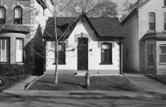 Historic photo from Saturday, January 2, 1988 - George Bowling house - 113 Hazelton Ave - built in 1880 in Yorkville
