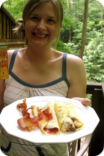 Cabin Breakfast