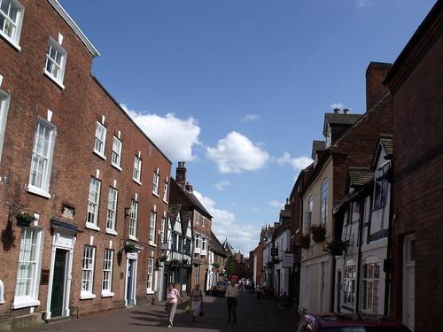 Dam Street, Lichfield - Brooke House on the left