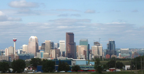 Calgary at 1100 KM
