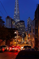 Downhill at the blue hour (jver64) Tags: sanfrancisco california usa chinatown bluehour