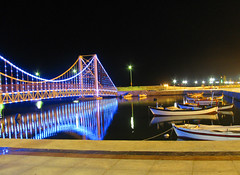 Lighting & Silence (EmRe85) Tags: lighting bridge sea beautiful night turkey float mtr bandrma kartpostal wonderfulimage platinumphoto thebestshot flickrlovers flickraward mtrtrophyshot flickrunitedaward