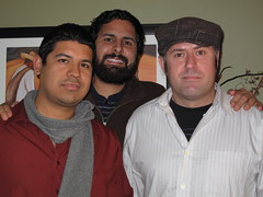 mario, joaqatron, and galen lookin' handsome (the talent family) Tags: dec2008