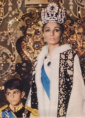 Shahbanu and Crown Prince 26th October 1967 (royalist_today) Tags: iran 1967 crownprince tehran reza farah diba pahlavi shahbanu