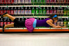 July 26, 2009 (a.funk) Tags: selfportrait flying colorful floating shasta 365 grocerystore sodapop 365days afunk sodaaisle alishafunkhouser inspiredbydenisdarzacq igotlotsofcrazylooksforthisone