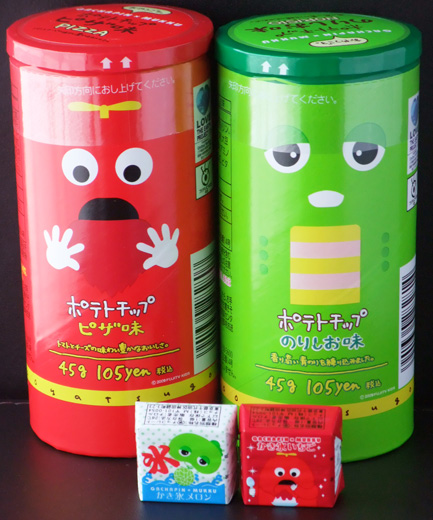 TV character snacks - Gachapin & Mukku