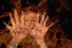 (natalie harding) Tags: portrait orange selfportrait black me canon fire rebel hands like h help abc natalie resuming xsi helpme letterh canonrebelxsi