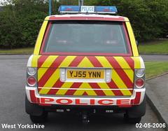 West Yorkshire Police Range Rover (Philip Hamilton) Tags: police rangerover policevehicles westyorkshirepolice yj55ynn