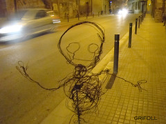 Artistic intervention by Grifoll (GRIFOLL Art & Folish Games) Tags: barcelona portrait people baby paris art museum flickr gallery arte retrato fine photographic fotos download blogspot ars poetica hombrecillo berga poema poble homenet descargar grifoll casserres crapules crapulistica poeticacrapulistica