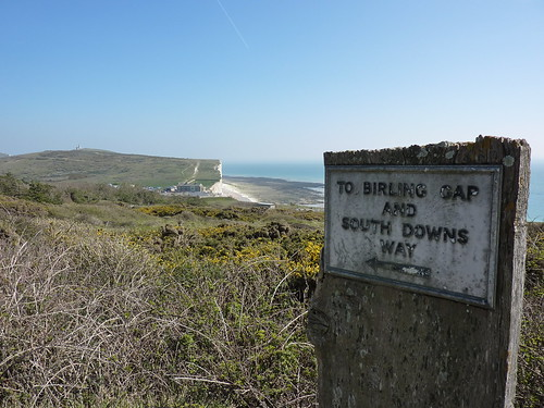 Nearly at Birling Gap
