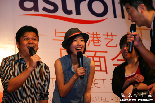 Meet & Greet : TVB artistes Moses Chan, Ron Ng and Natalie Tong @ OneWorld