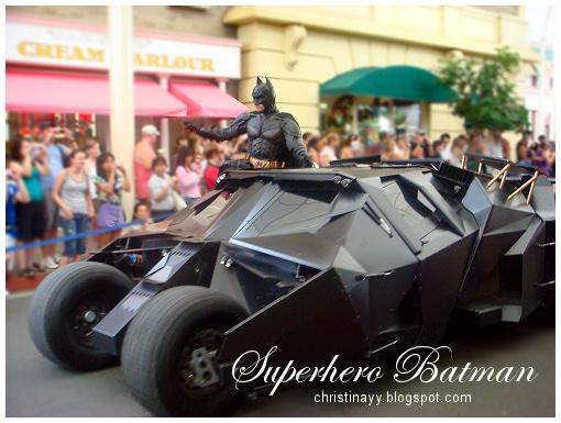 Warner Bros. Movie World: Superhero Batman
