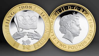 Moneda de Londres 2012