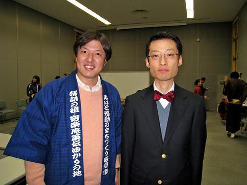 NHK橋爪秀範アナウンサーと