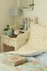 corner of bedroom (cottonblue) Tags: blue white house art home rose japan corner vintage design living cozy bed bedroom soft apartment display furniture interior room cottage decoration style livingroom coastal chic decor bazzar interiordesign bedding shabby smallspace shabbychic homefurnishing homedecoration homedesign thrfit thift furnitrue fleamarketstyle vintagedecoration cottonblue homedressing bazzarstyle lifecountryshabbyinterior