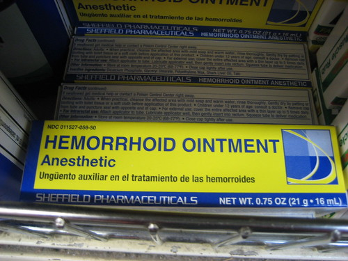 Hemorrhoid Ointment