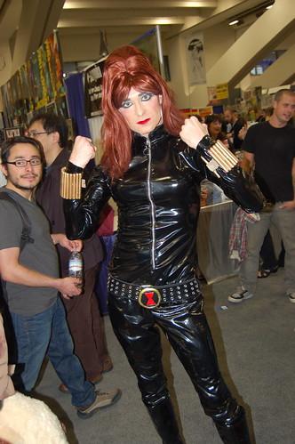 Wonder Con 2009: Drag Black Widow
