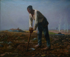 Millet, Man with a Hoe