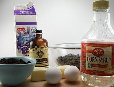 Chocolate Glazed Chocolate Tart Fixins