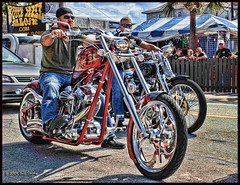 Bike week (Bill Strong) Tags: beach chopper florida motorcycle daytona bikeweek mywinners citrit topazadjust