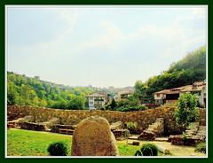 Bulgaria (Stella VM) Tags: summer sky sun forest landscape hill medieval bulgaria tarnovo velikotarnovo   40