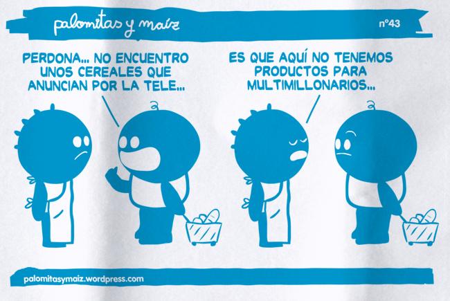 Marca blanca!, una viñeta de Palomitas y Maíz (palomitasymaiz / Flickr)