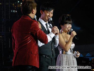 Raymond Lam looking cheery