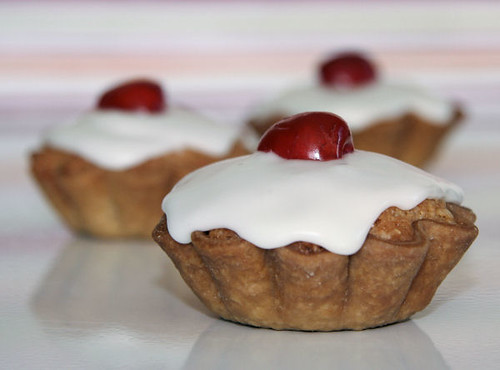 Cherry Bakewell Tarts for Red Nose Day