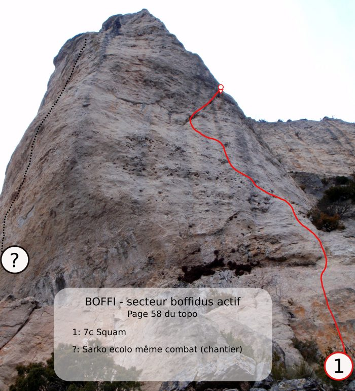 topo escalade dourbie millau