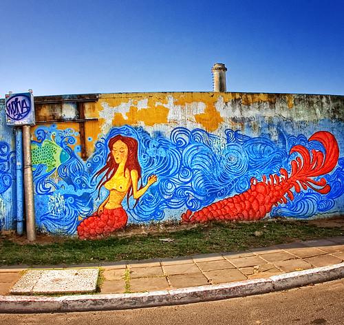 Mermaid Graffiti