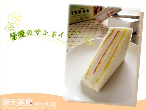 你拍攝的 三明治-1。