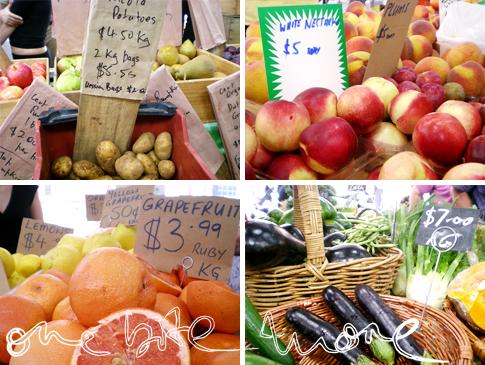 fresh fruit & veg at eveleigh
