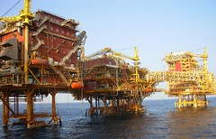 ONGC Oil and Gas Processing Platform.